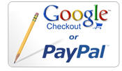 Pay with Pay Pal or Google Checkout for your translation